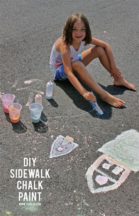 sidewalk chalk paint diy seven thirty three a creative
