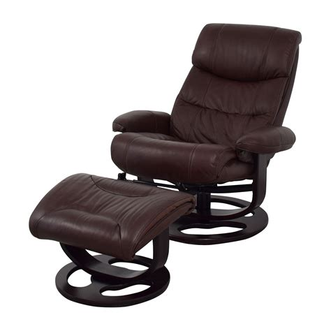 Leather Recliner Chair by 59 Macy S Macy S Aby Brown Leather Recliner Chair