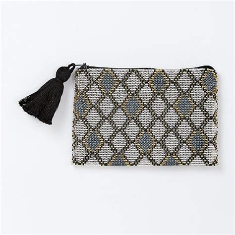 beaded pouches la casa beaded pouches small west elm