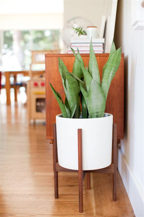 mid century planters giveaway mid century modern planter with modernica