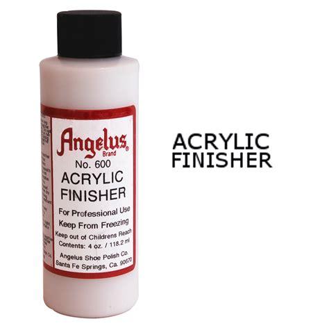 angelus paint protector angelus gloss acrylic finisher leather dye fabric