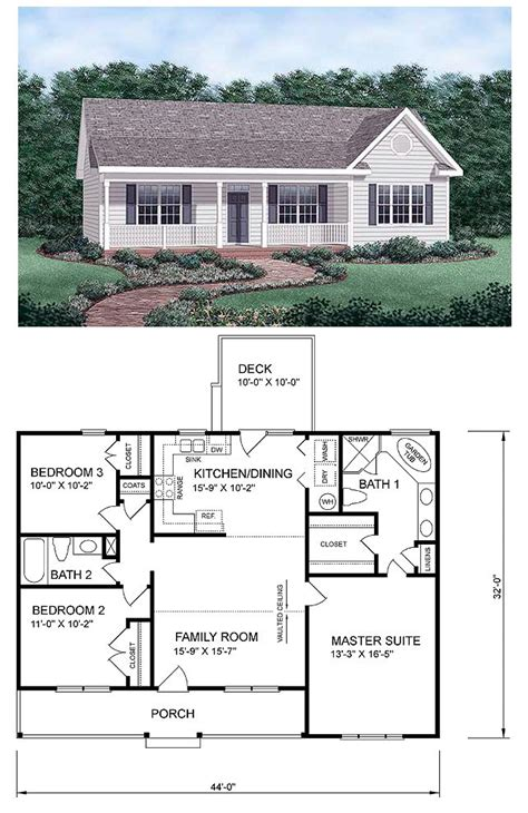 master house plans 25 best ideas about small house floor plans on