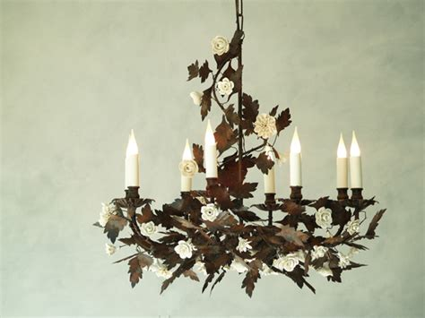 oak leaf chandelier oak leaf chandelier cottage industry