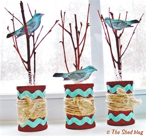 bird craft projects mini trees with birds spool craft reader featured