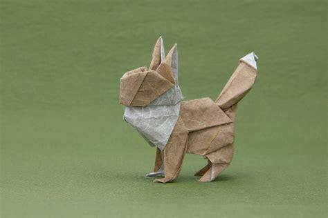 eevee origami origami gotta fold em all
