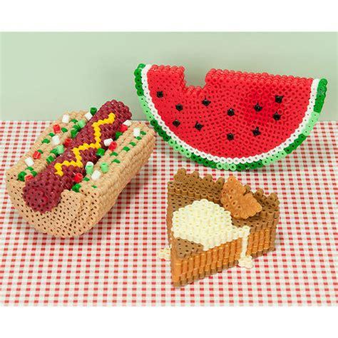 perler 3d 3d picnic faves perler