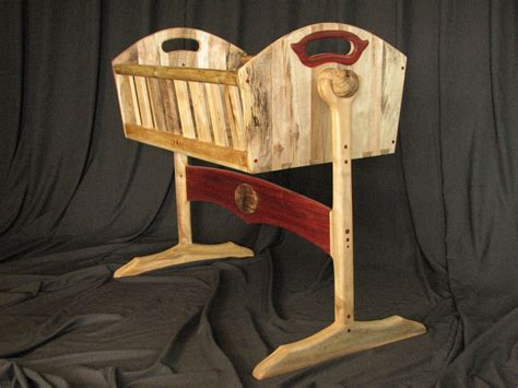bassinet woodworking plans custom bassinet by bearkat wood custommade