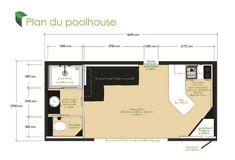 pool houses plans pool house 20m2