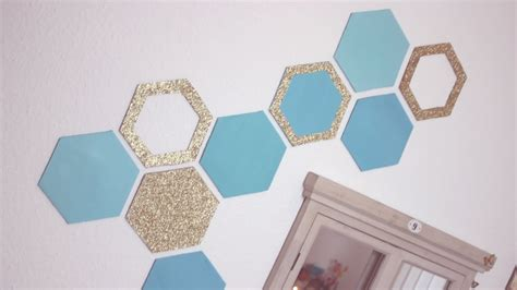 ideas make diy honeycomb wall decor easy recycling home decor idea