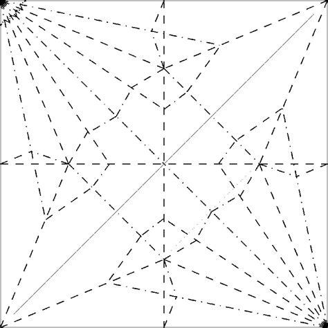 origami crane pattern creased magazine for paper folders