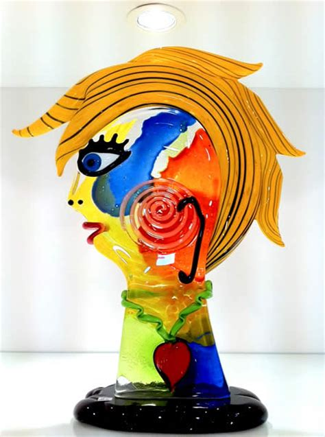 picasso glass glass picasso sculptures murano picasso sculptures in