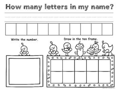 How Many Letters In My Name By Pam D Alessandroone Page