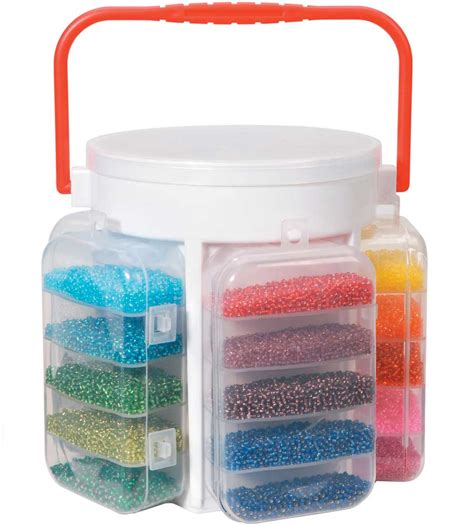 bead organizers and storage containers bead storage container in craft storage