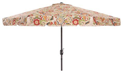 floral patio umbrella pillow multicolored floral 9 foot patio umbrella