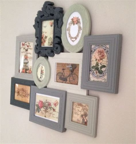 shabby chic picture frame ideas 25 best ideas about multi picture frames on