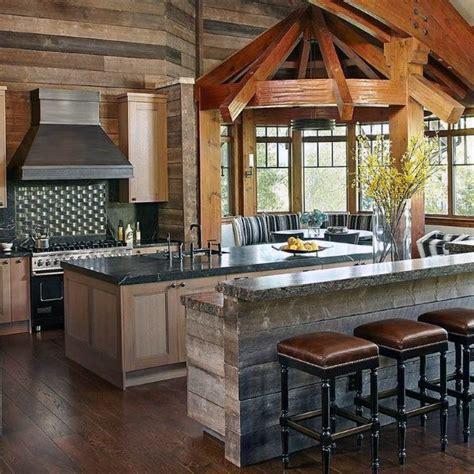 barn kitchen ideas top 60 best rustic kitchen ideas vintage inspired interior designs
