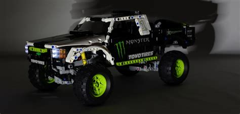 Monster Energy Sticker Truck by Monster Energy Baja Truck