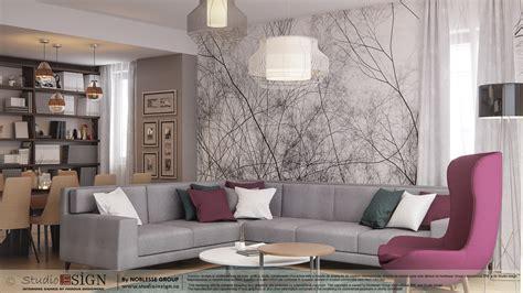 interior design in home photo apartment in bacau modern interior design studio insign