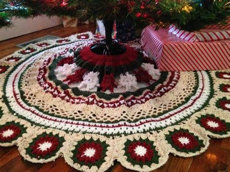 crochet tree skirts 25 unique crochet tree skirt ideas on