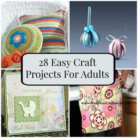 projects for adults 28 easy craft projects for adults favecrafts