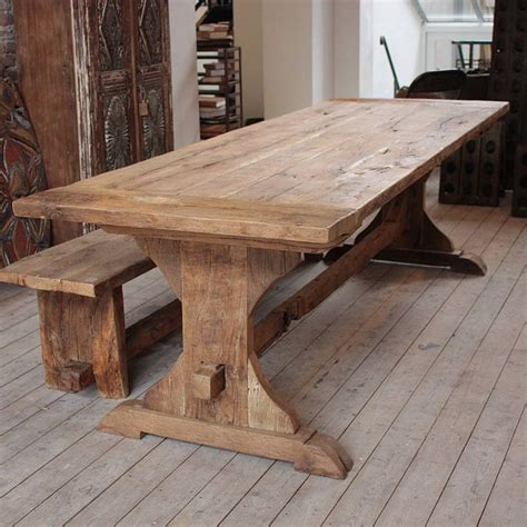 large oak kitchen table best 25 rustic dining tables ideas on rustic