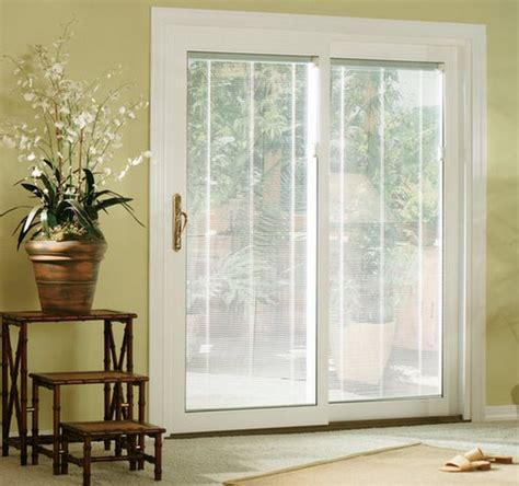 sliding door with blinds between glass sliding glass doors with blinds inside them sliding