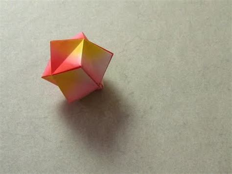 stellated octahedron origami origami stellated octahedron montroll