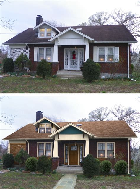 before and after small home insider look at shake it up makeover marquis cayce of
