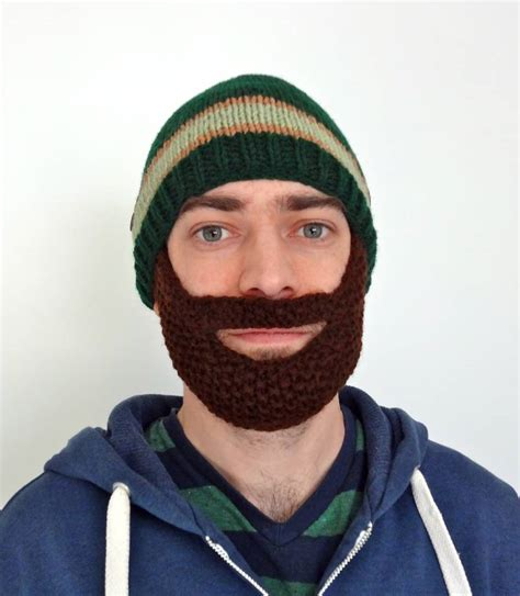 knitted beard hats new knitted beard hat listing on etsy lil bit