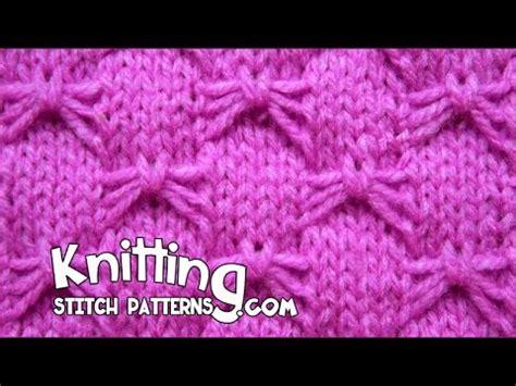 butterfly knitting stitch butterfly bowknot stitch