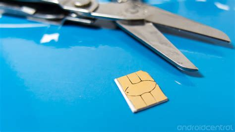 can i make my sim card into a microsim for the bold cutting your own nano sim card android central