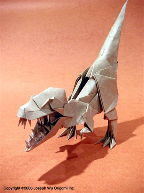 origami t rex 1000 images about dino origami on