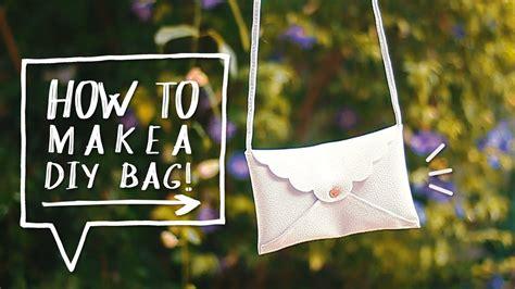 how to make a purse with diy no sew purse how to make a mini cross bag