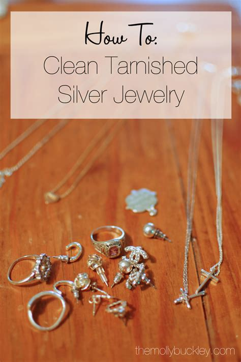 how to make jewelry cleaner for silver how to clean silver jewelry how to still being molly