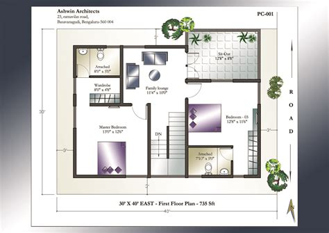 28 x 40 house plans 30 x 40 house plan east facing house plan home plans india