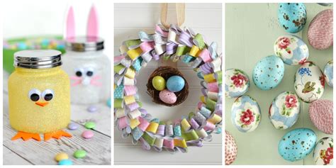 crafts ideas 60 easy easter crafts ideas for easter diy decorations