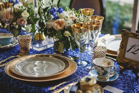 Vintage Meets Glam Wedding Inspiration   Belle The Magazine