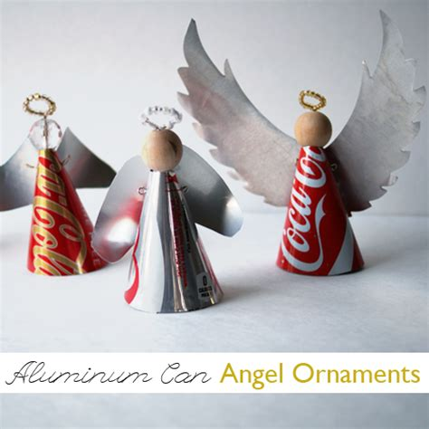 soda can ornaments how to recycle soda can ornaments