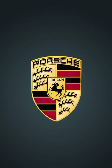 Car Logo Iphone 5 Wallpaper by Car Logo Wallpaper For Iphone And Android Porsche