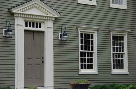 how to trim an exterior door exterior trim siding colonial exterior trim and siding