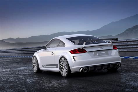 New Audi Quattro by New Audi Tt Coupe Mans Up With 414hp Quattro Sport Concept
