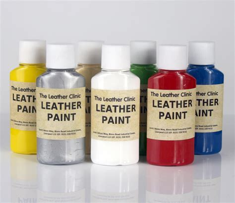 spray paint on leather leather paint for custom designs and artwork brush