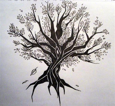 tribal tree by wynterfang on deviantart