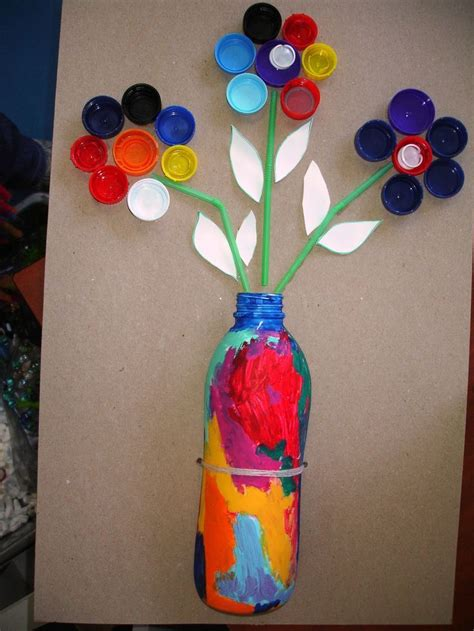 crafts with water bottles for water bottle cap crafts find craft ideas