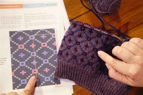 how to fair isle knit tips for reading fair isle knitting charts and other