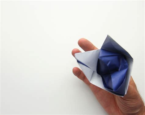origami puppets how to make an origami puppet 12 steps with pictures
