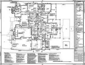 construction floor plan scottsdale custom home brian romney archinect