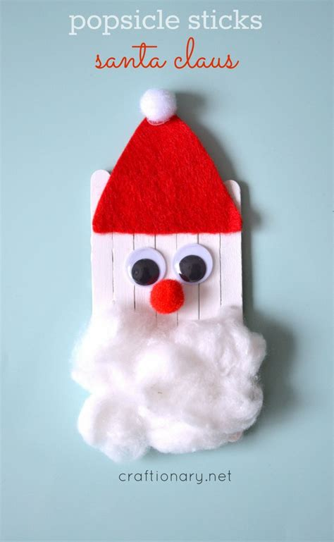 santa claus crafts crafts clean and scentsible