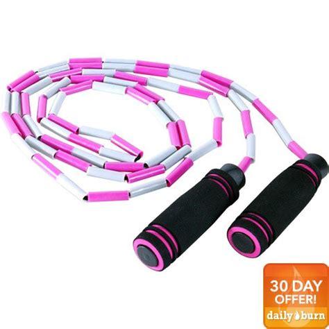 beaded jump ropes tone fitness adjustable beaded jump rope walmart