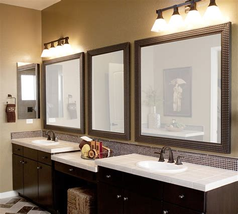 images of bathroom mirrors 12 framed bathroom mirrors designs and ideas